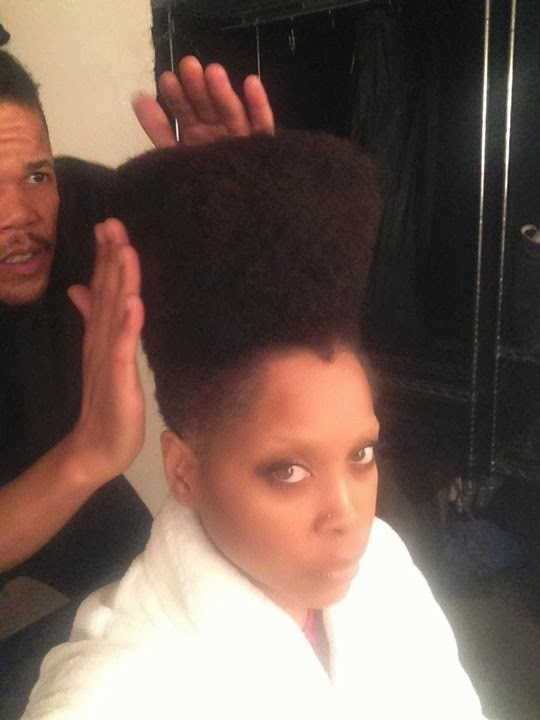 Celebrities with natural hair for Erykah badu real tattoos